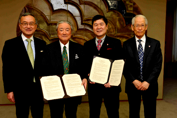 上智大学と連携協定(MoU)を締結