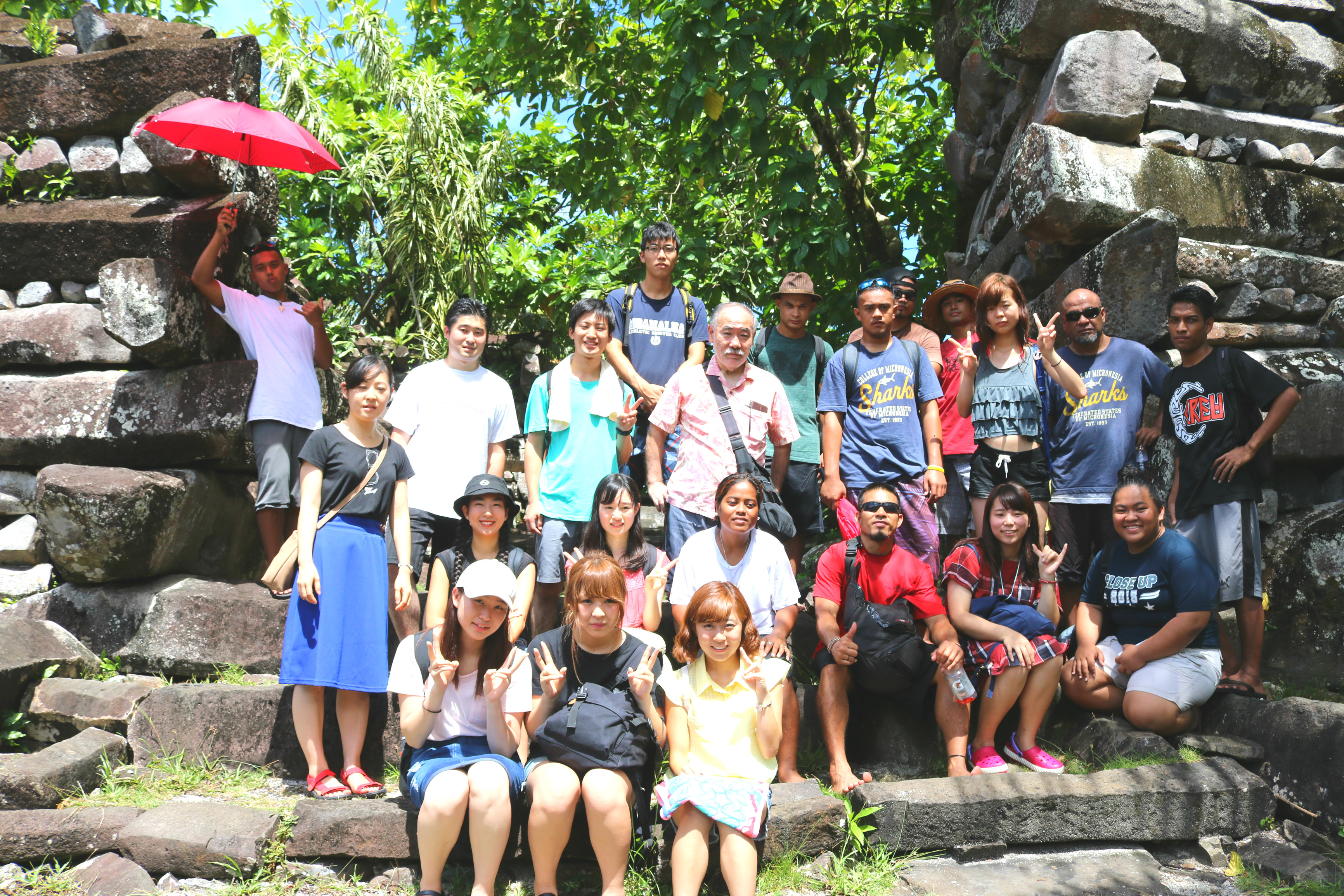 The Second Summer Program for Students of Sophia University / Junior College Division at College of Micronesia -