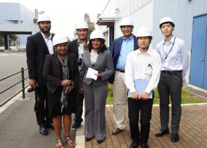 6 journalists from the Pacific Islands and Caribbean visited Japan