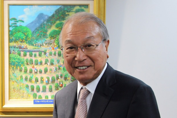 Interview with Mr. Tatsuji Ueshima, Chairman and Executive Director of UCC and standing Honorary Consul of Kobe and Jamaica
