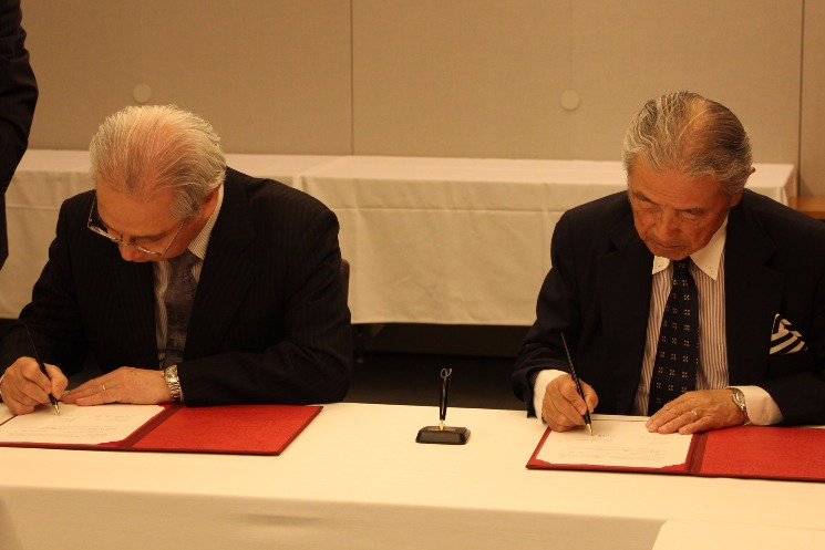 MoU Signing Ceremony with Toyo University