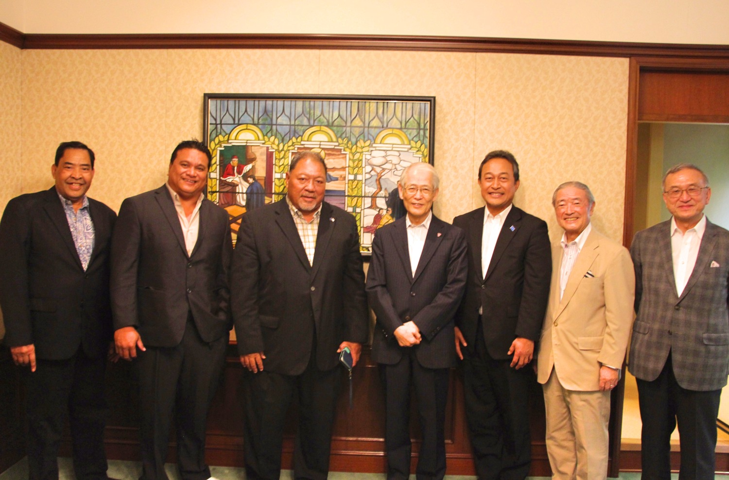 Luncheon with Senators from the Federated States of Micronesia