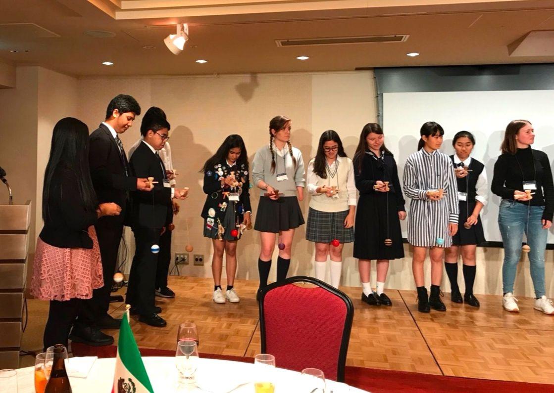 Xavier Exchange Students Participate in Oktoberfest