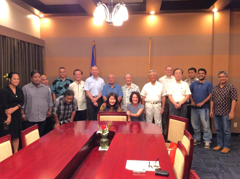 APIC President Peter Sato's Visit to Micronesia