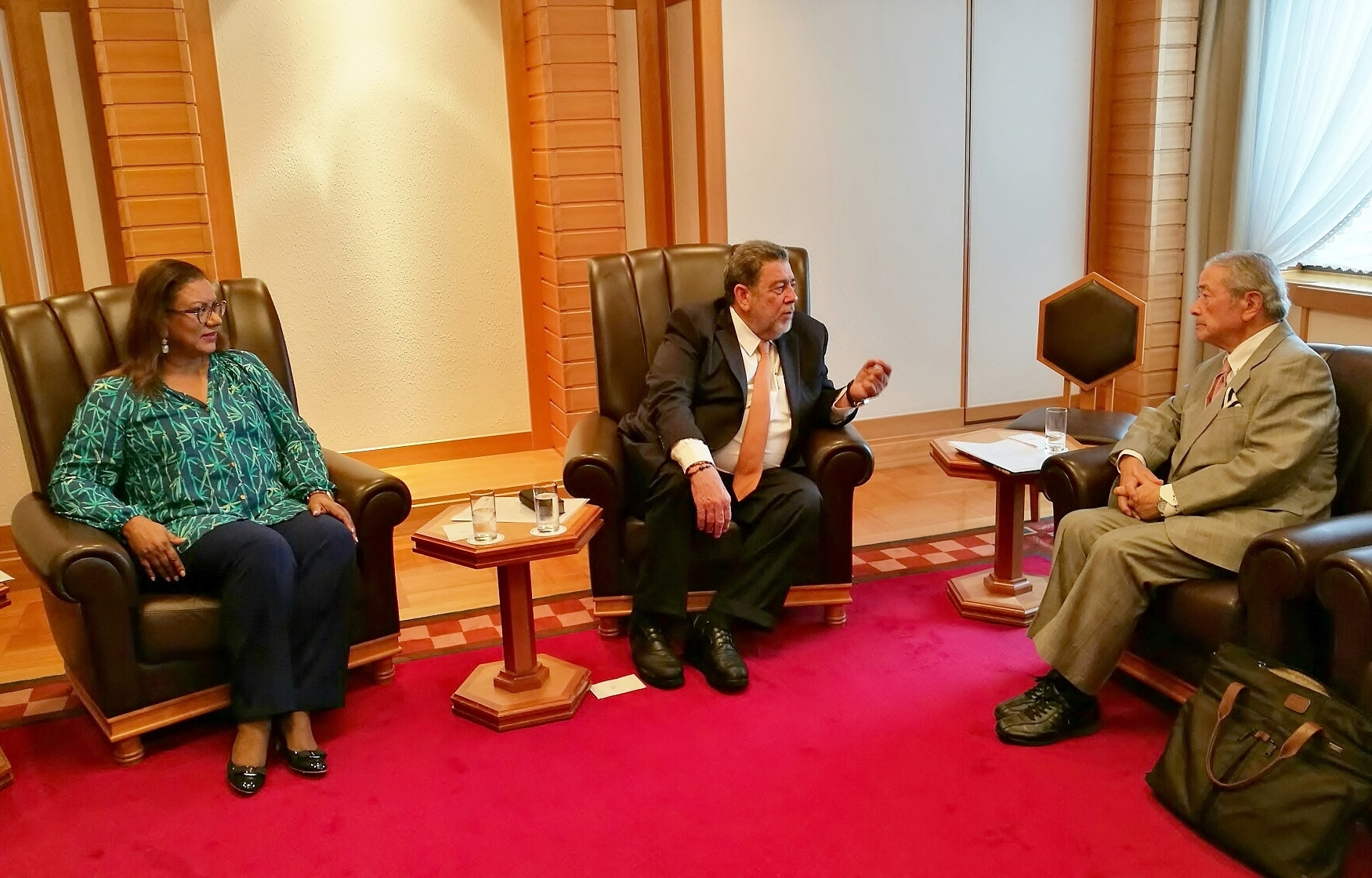 PM Gonsalves of St. Vincent & the Grenadines Visit to Japan