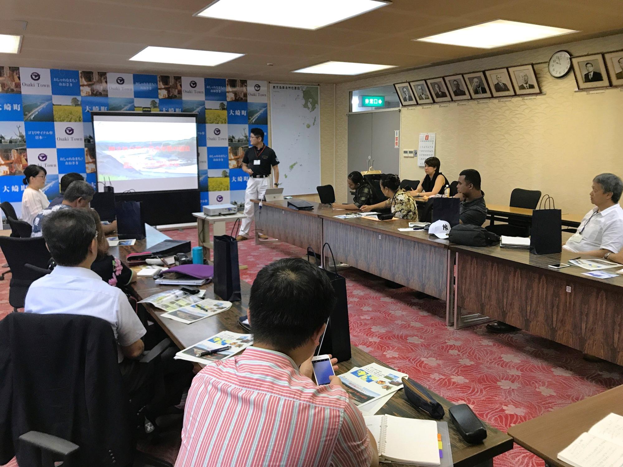 JICA Partnership Program: APIC Joins Chuuk, FSM Garbage Disposal Project Members Training