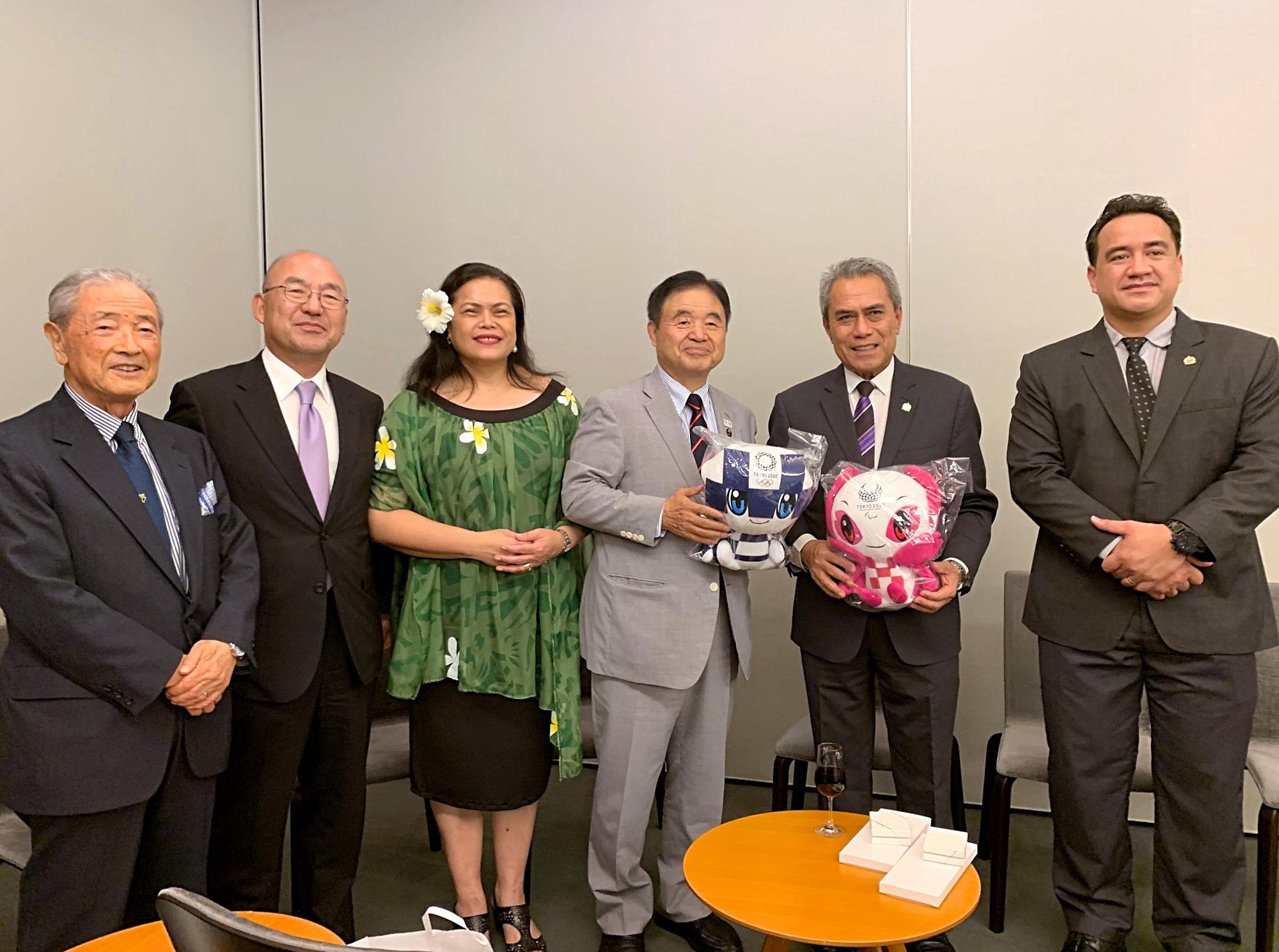 Samoa Finance Minister & Chief Executive Officer Invitation Program