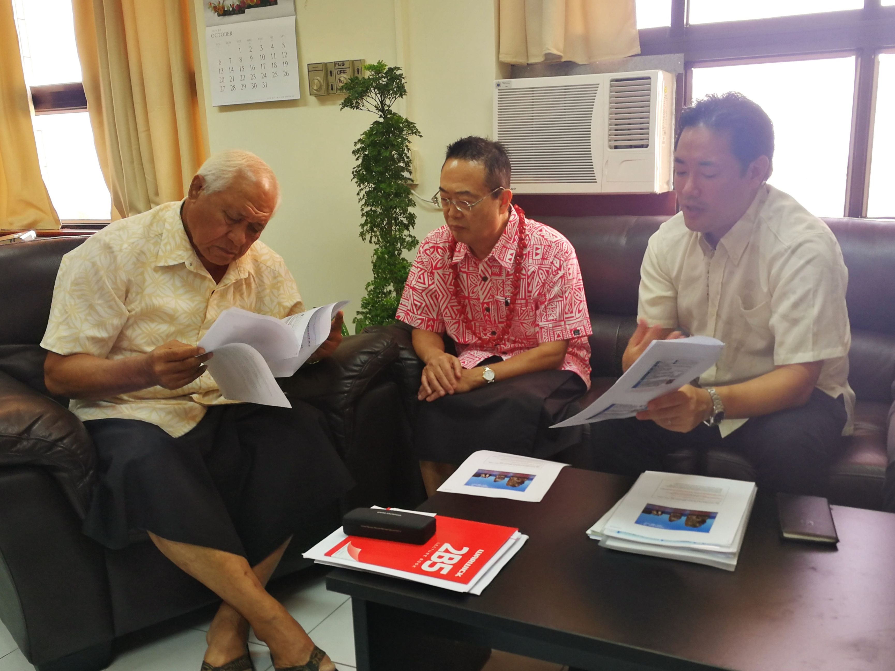 Preliminary Research Conducted in Samoa