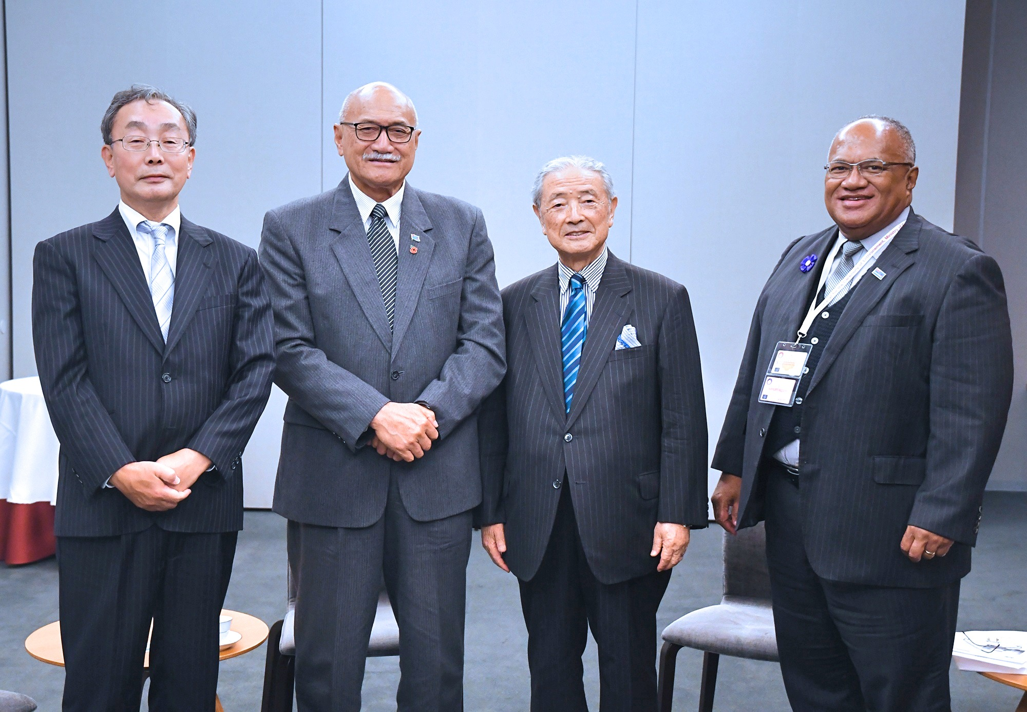 President of the Republic of Fiji and APIC President Sato Hold Talks