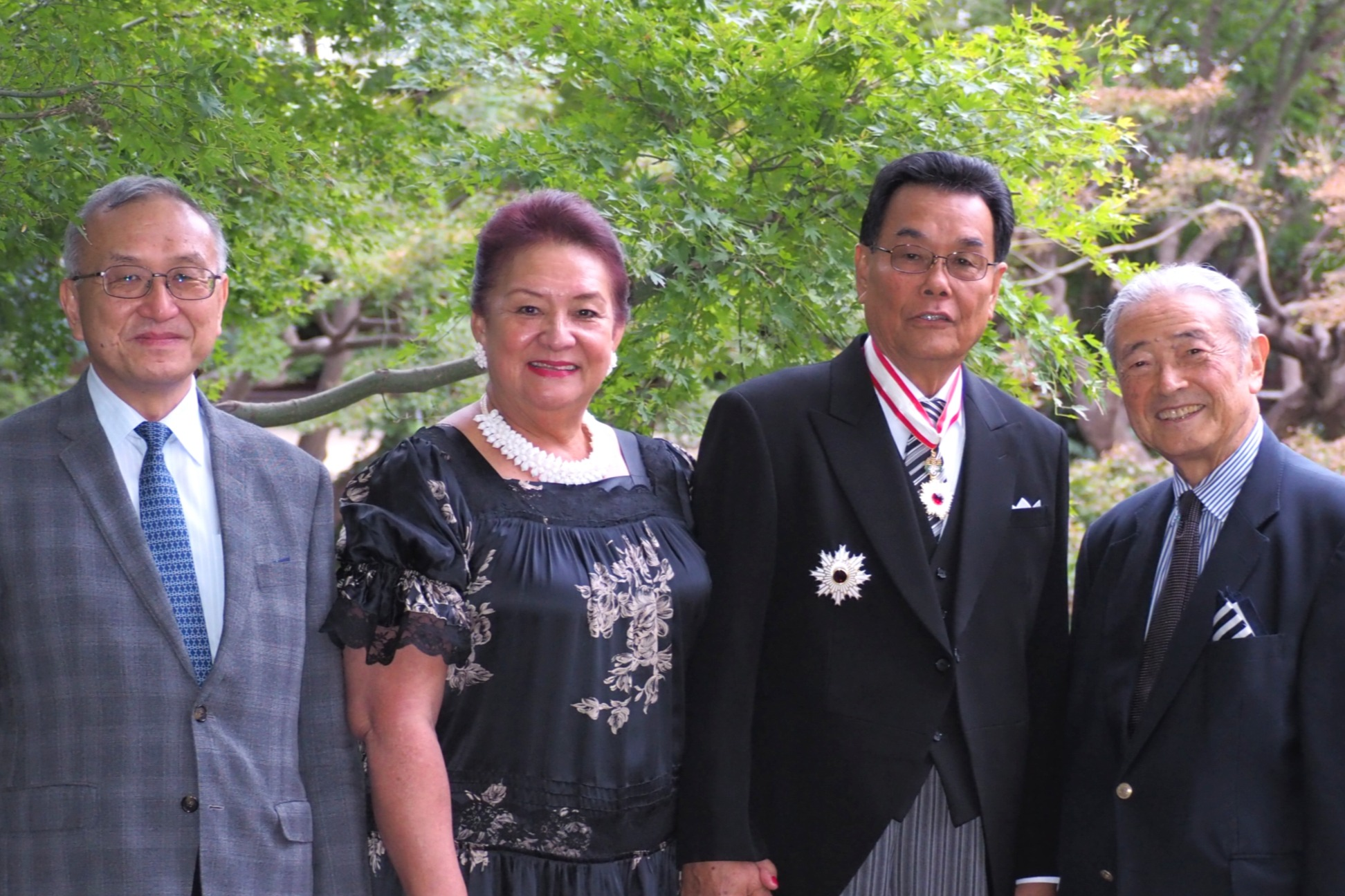APIC Congratulates FSM Ambassador Kasio Mida on Receiving Imperial Honors
