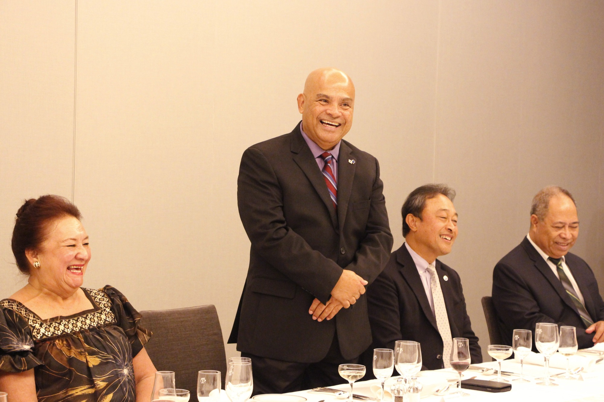 Federated States of Micronesia President Panuelo Reception