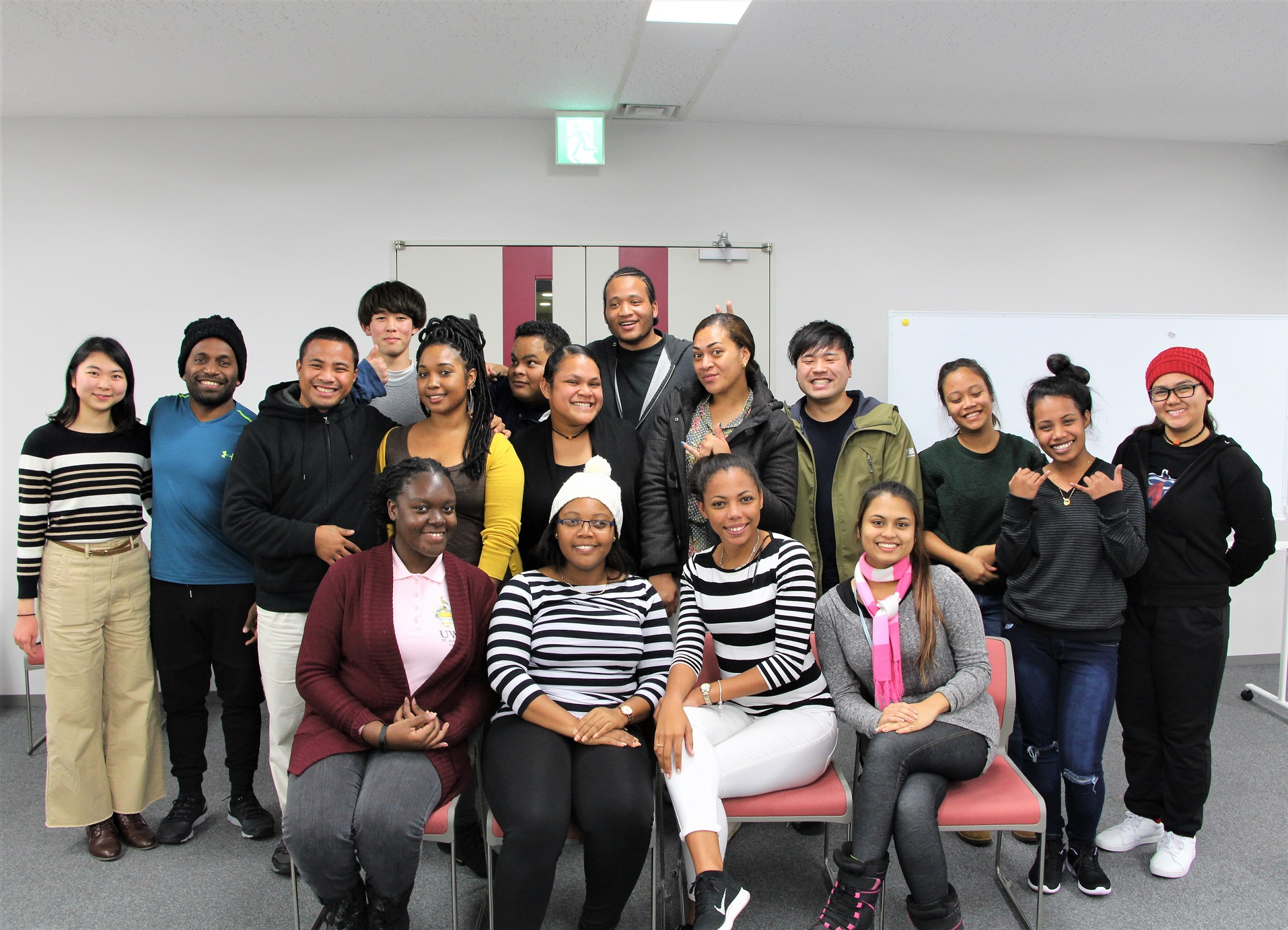 """Past """"Pacific & Caribbean Islands Student Invitation Program"""" Participants Take Part in Japanese Speech Contest in Trinidad & Tobago"""