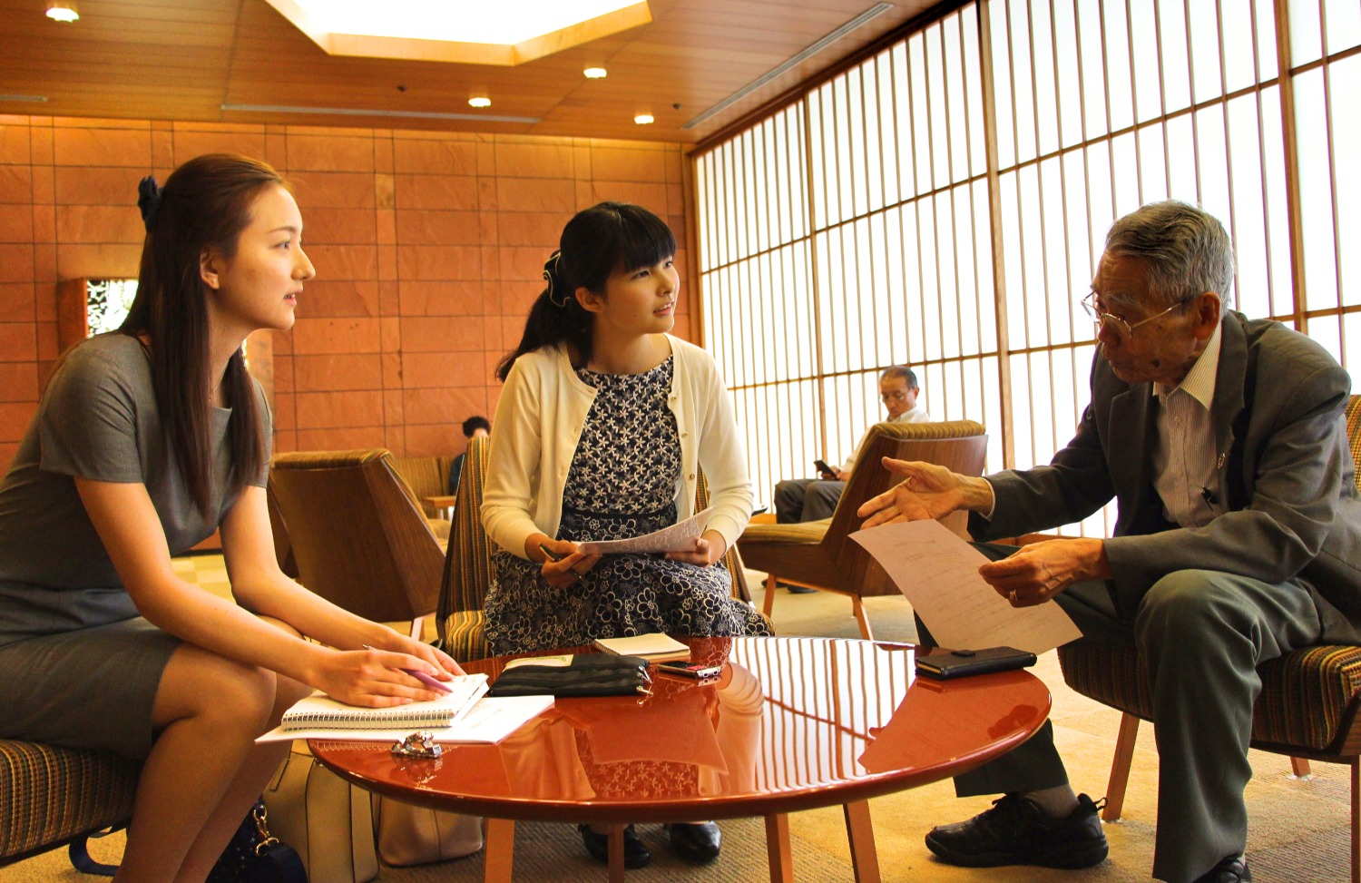 Interview with APIC councilor Mr. Hirono Ryokichi