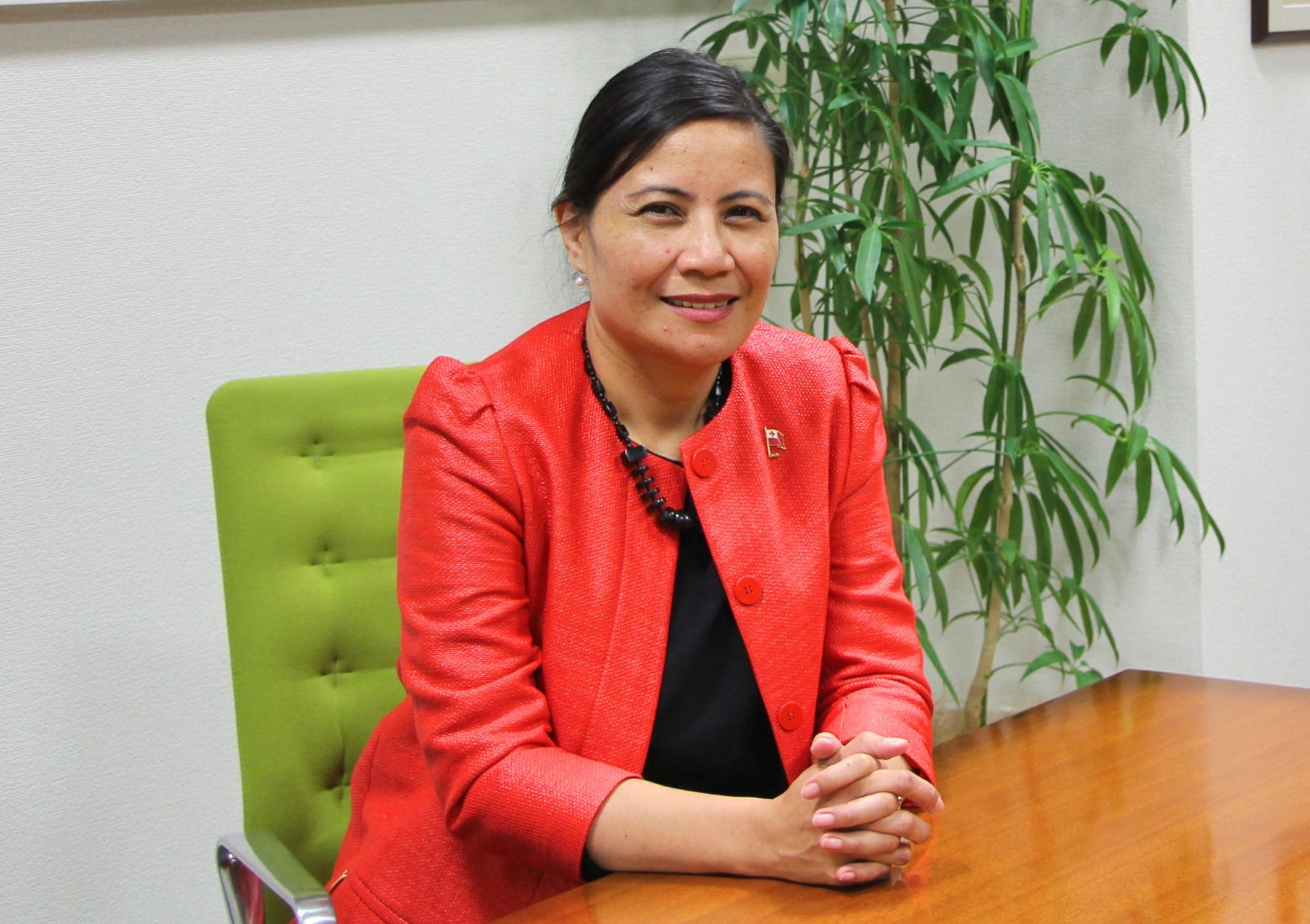 Interview: Tonga Ambassador to Japan, Her Excellency Lady Tania Laumanulupe'o Talafolika FUSITU'A