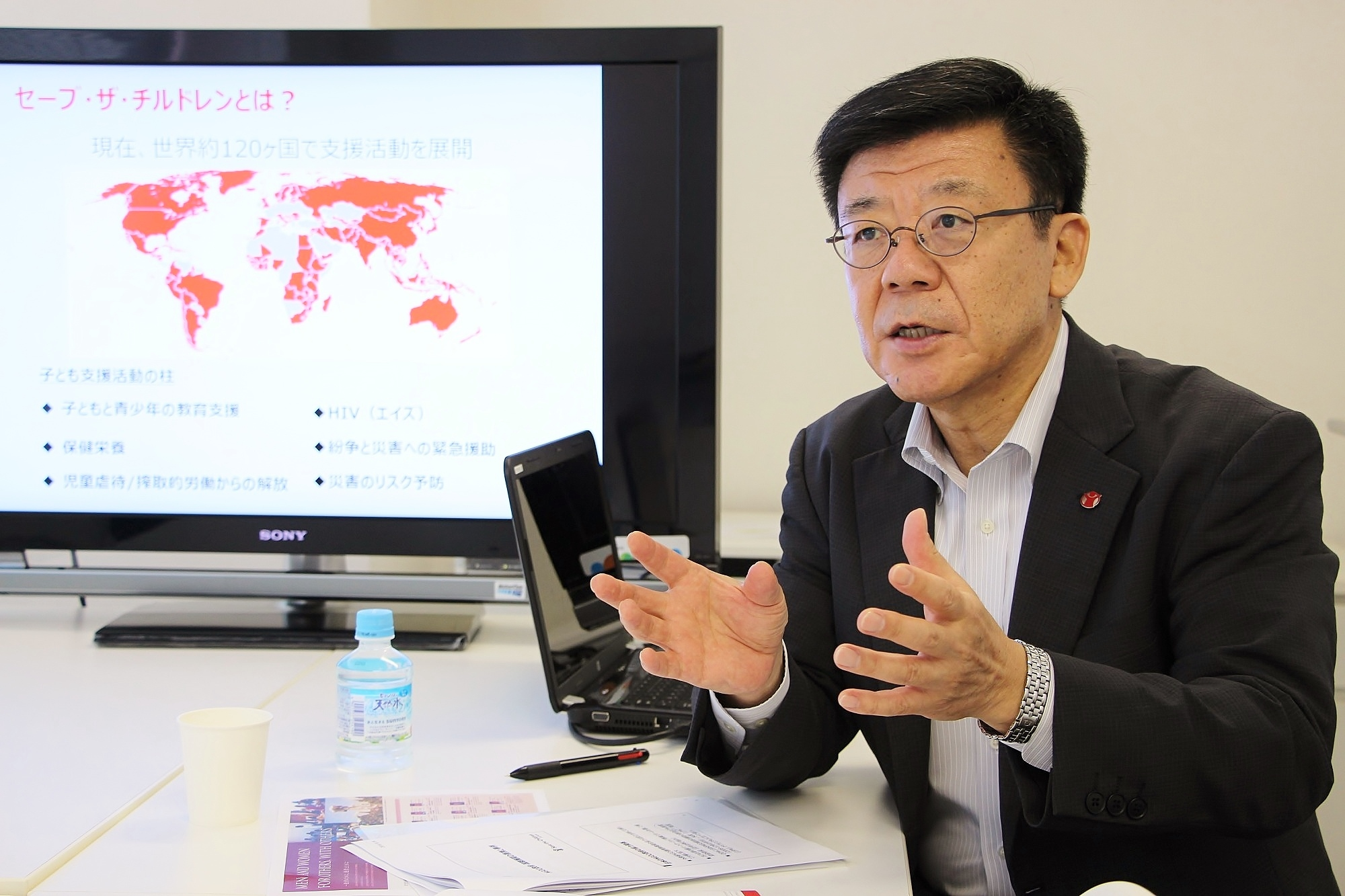 Interview: Mr. Kunio Senga, CEO of Save the Children Japan (SCJ)