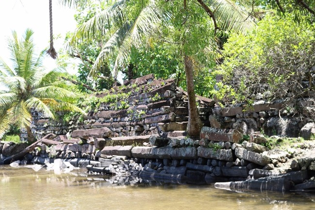 APIC helps support the UNESCO World Heritage Site preservation of Nan Madol Ruins
